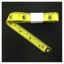 Tailor Tape Measure Yellow color tape 16mm 1.5m/60inch